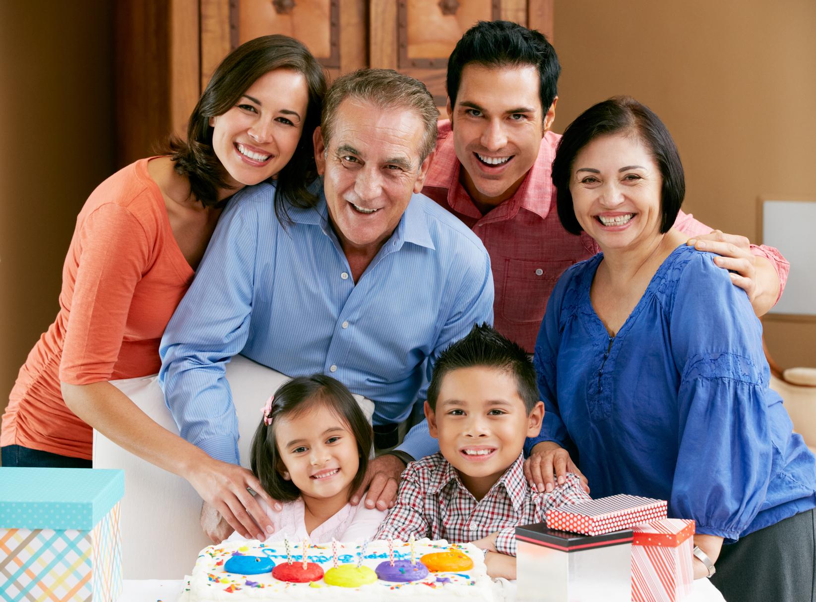 Longevity revolution_Multi-Generation Family Celebrating - Dollar photo club