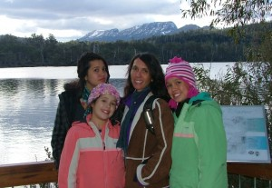 Tasmania Holiday MA and Girls (2) 2009