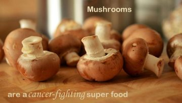 mushrooms protect against breast cancer