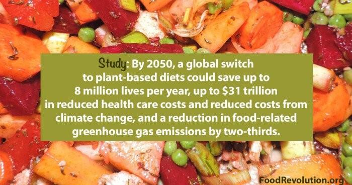 Food revolution benefits of dietary change