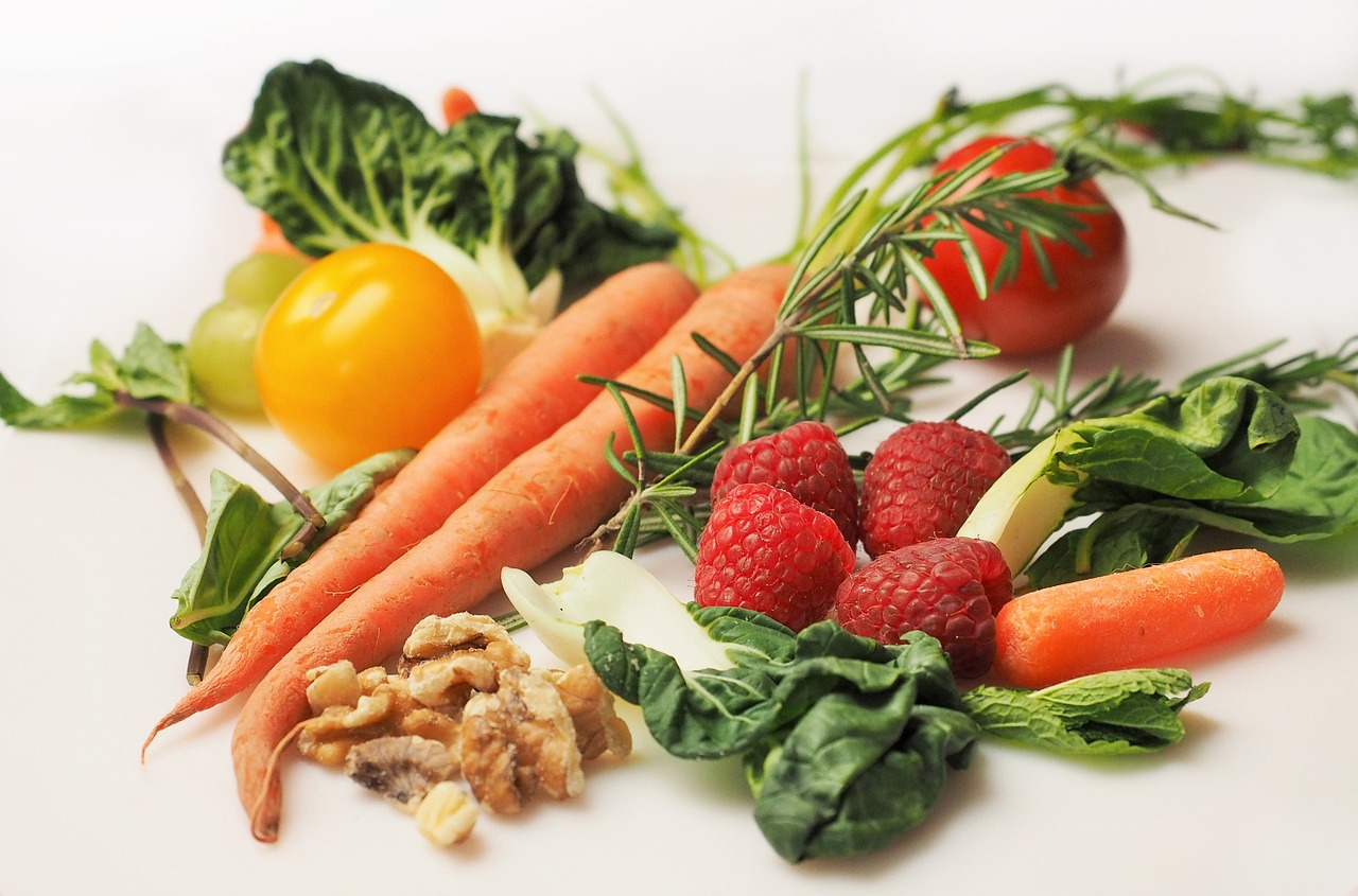 Antioxidants fresh vegetables