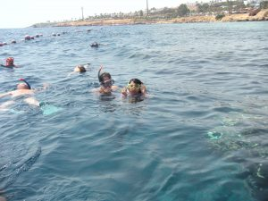 Swimming on Coral Reef-Sharm El Sheik on Red Sea