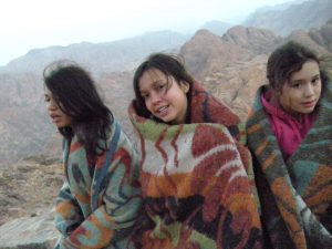 Mt Sinai Watching Sunrise-Freezing Cold